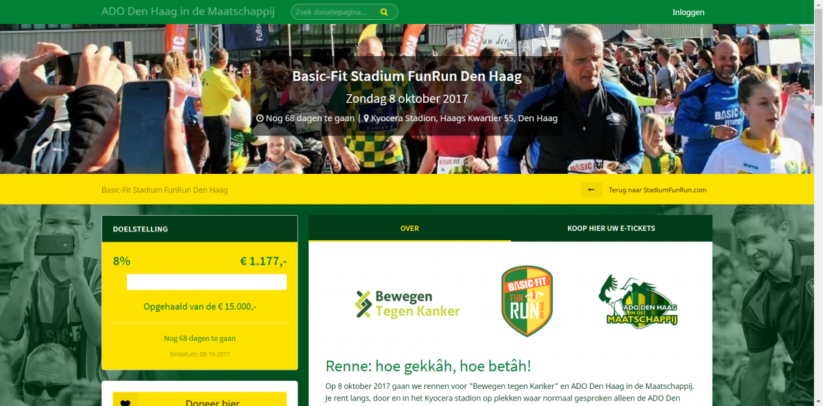 Eredivisie loopt weg met Support and Donate