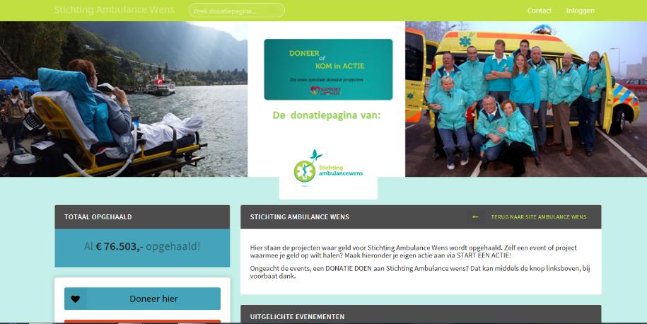 Een online donatieplatform….maar wat nu?!